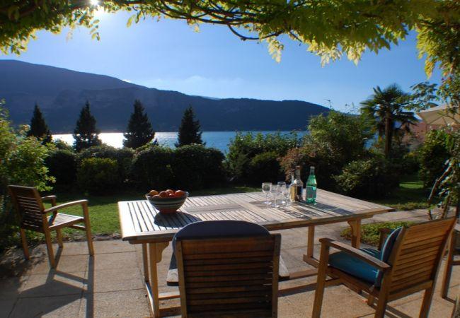 in Talloires-montmin - Talloires - Bucolique cottage rénové jolie Vue lac